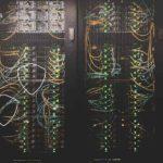 image of data center servers
