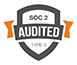 SOC 2 Audited Type II logo