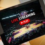 tablet streaming a sporting event