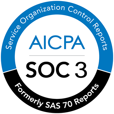 AICPA SOC 3 Certified