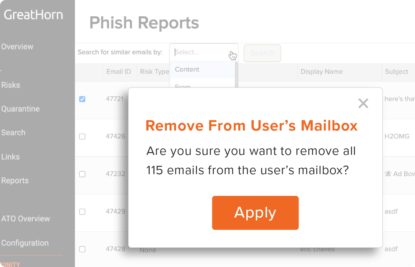 reduce phishing response time